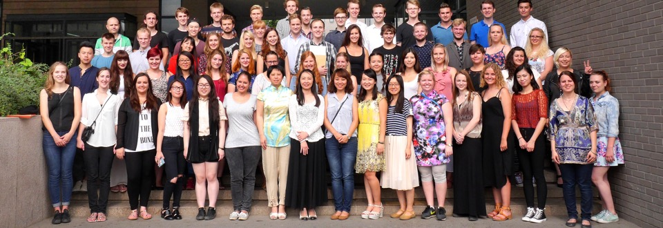 Students from Aarhus and Würzburg, Summer Term 2015